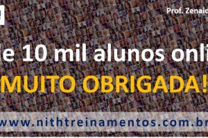 Mais de 10 mil alunos online!
