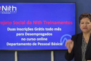 Projeto Social – Curso Gratuito de DP para Desempregados