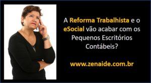 A Reforma Trabalhista e o eSocial - Zenaide Carvalho