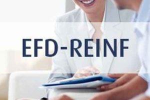 Portal Web da EFD-REINF