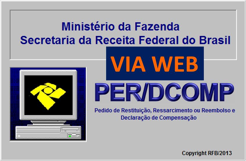 PER/DCOMP agora pode ser feita via web