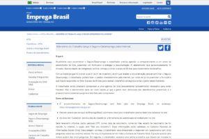 Ministério do Trabalho lança o Seguro-Desemprego pela Internet