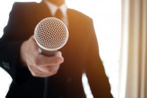 Falar em público: coragem e ação
