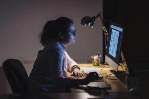 Trabalho Noturno: muita atenção!