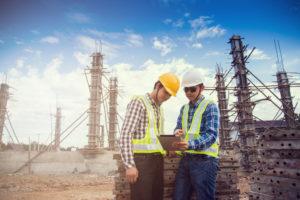 Atenção à SST na construção civil