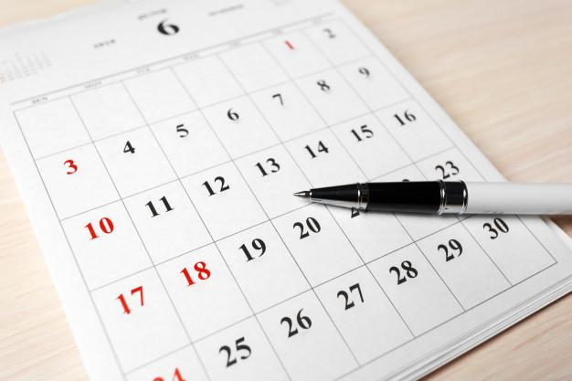 Fechamento do Ponto de 01 a 31 do mês