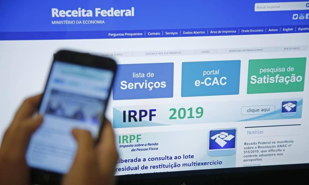Receita abre amanhã, 8 de agosto, consulta ao terceiro lote de restituição do IRPF 2019