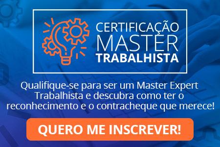 Certificacao Master Trabalhista