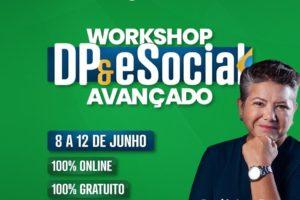 Workshop DP e eSocial Avançado: aulas já estão disponíveis