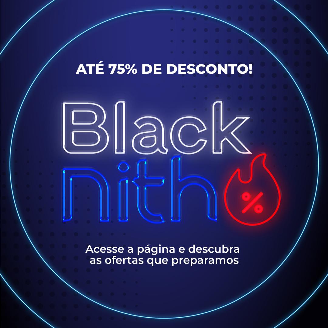 Black Nith: Você já pode adquirir um curso com até 75% de desconto