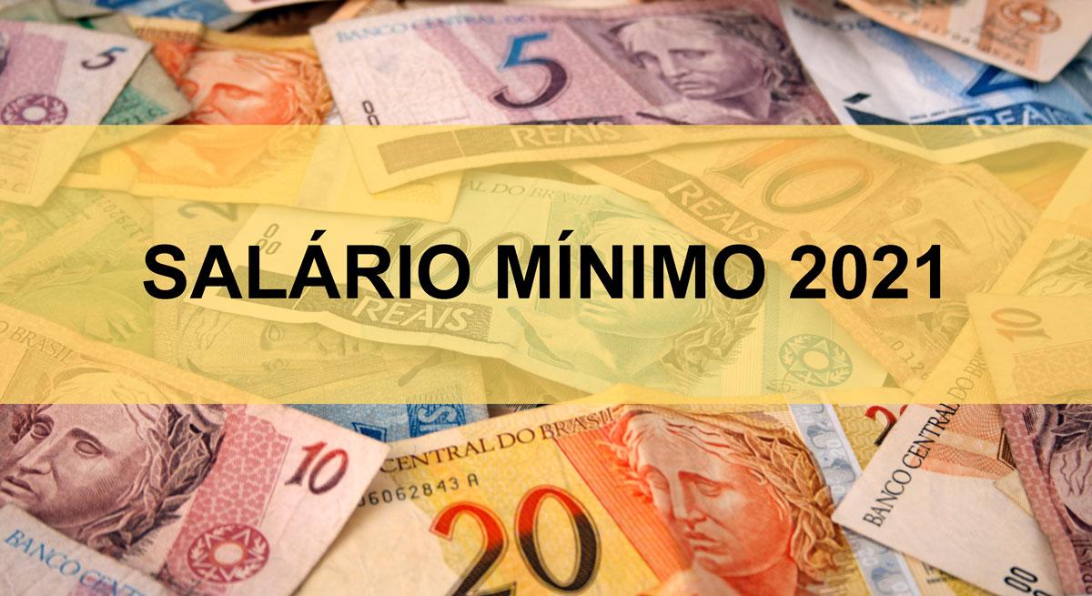 MP 1021: Divulgado salário mínimo de 2021